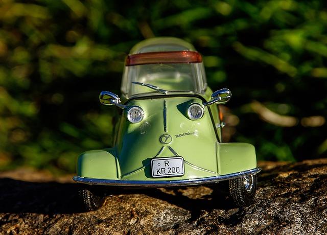 model automobilu