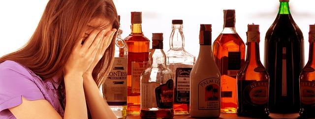 útěcha alkoholem