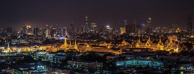 Noční Bangkok