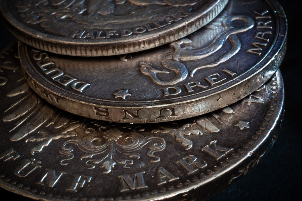 stříbrné peníze